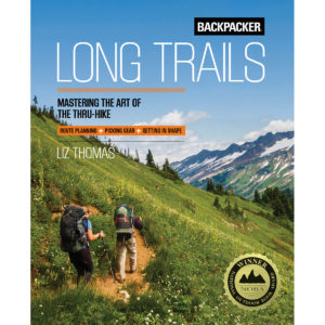 image of front cover of Backpacker Long Trails book
