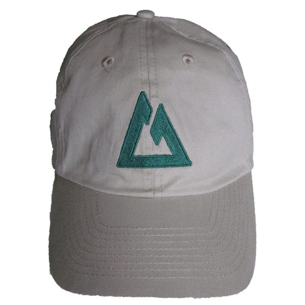 Green logo embroidered nicely on the front of the khaki CT Ball Cap