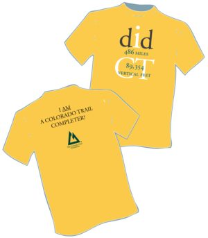 image of Completer T-shirt front and back