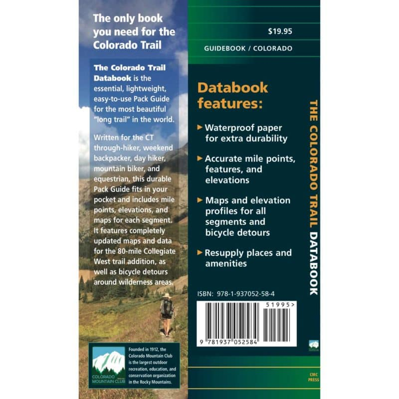 back cover of Databook 7