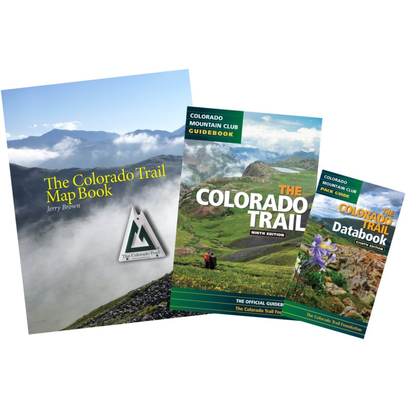 Colorado Trail Complete Guides Package - Map Book, Guidebook, Databook