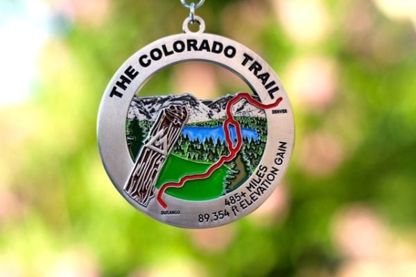 CT hiker's medal photo