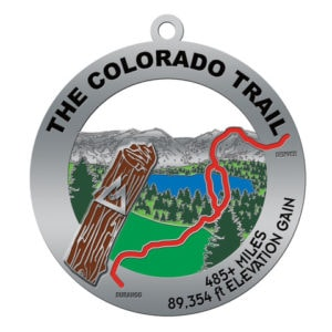CT hiker's medal graphic