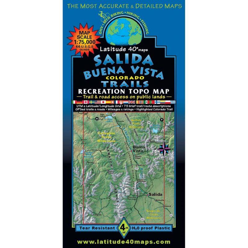 Latitude 40 Salida Buena Vista front cover