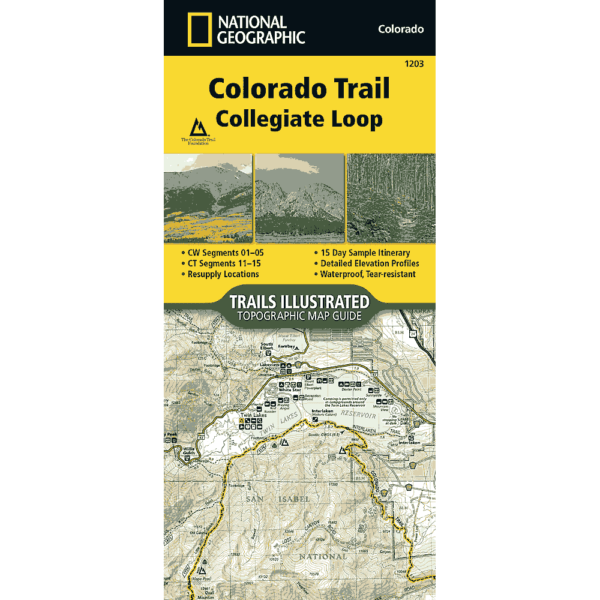 cover of National Geo Collegiate Loop map