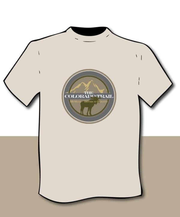 diagram of moose fauna T-shirt