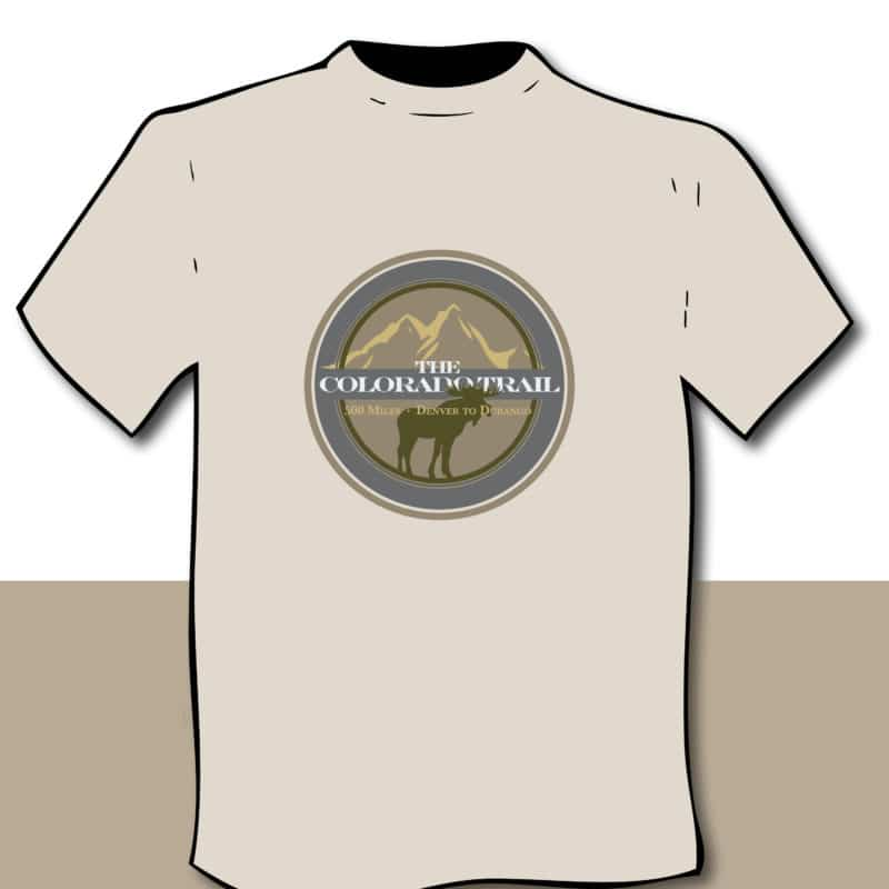 diagram of moose fauna T-shirt