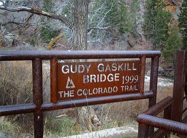 photo of Gudy Gaskill bridge