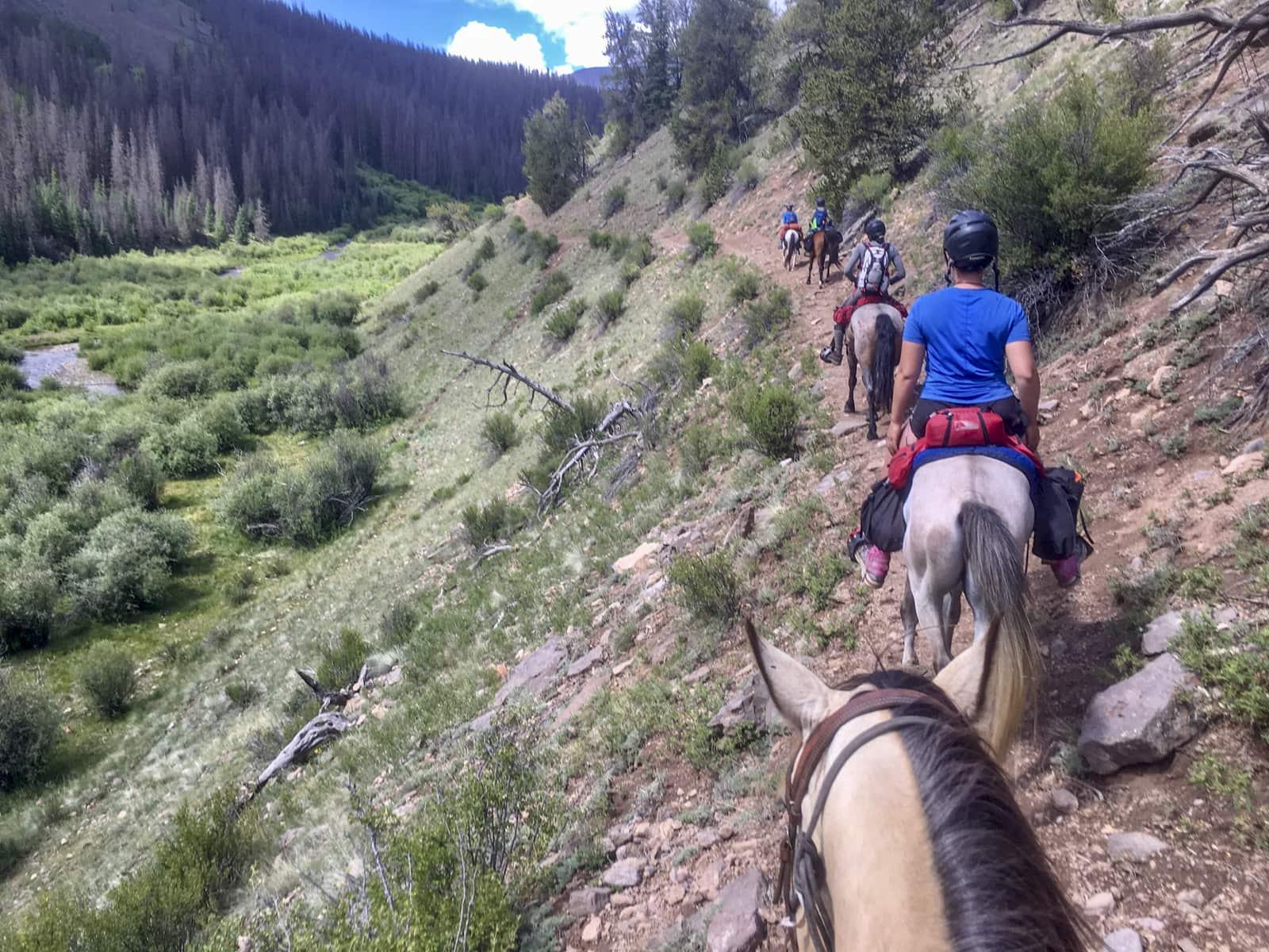 Horseback Riding - Colorado Trail Foundation
