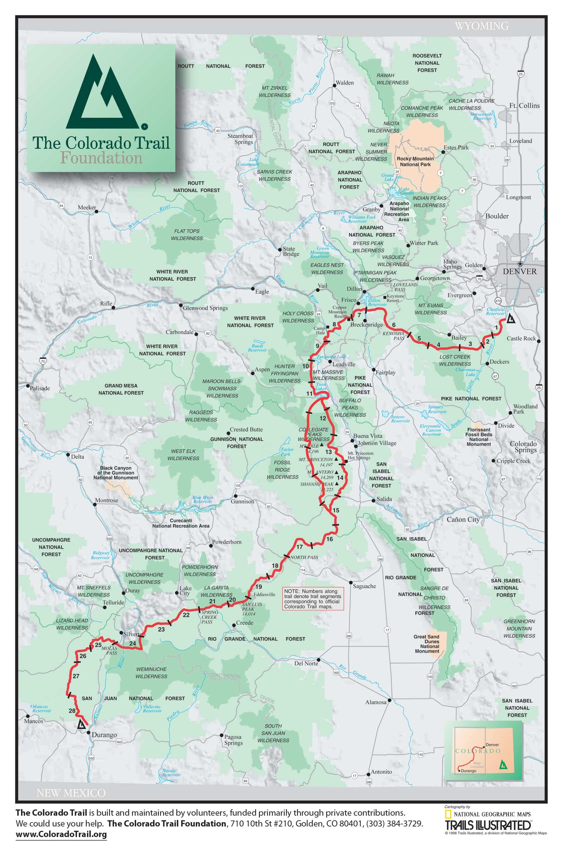 The Trail - Colorado Trail Foundation