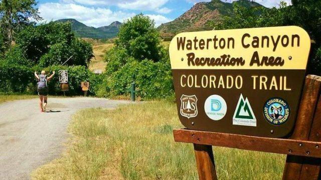 Starting in Denver at Waterton Canyon