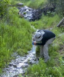 treating water from a stream