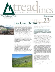 Spring 2014 Treadlines