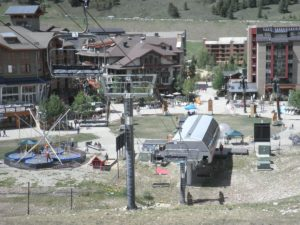 Copper Mtn chairlift
