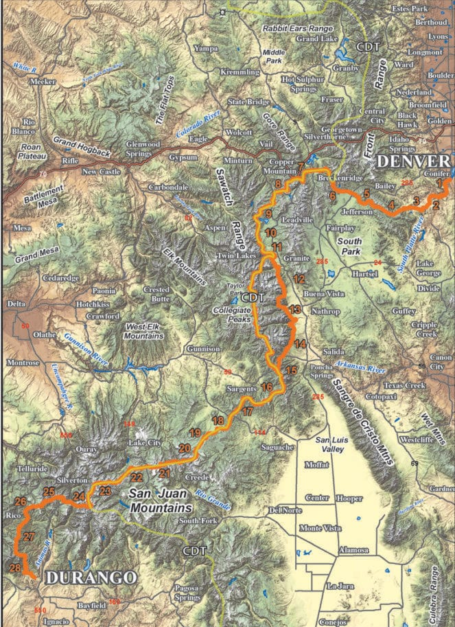 Maps and Guidebooks - Colorado Trail Foundation