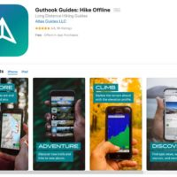 "Phone app for The Colorado Trail (and more) by Atlas ""Guthook"" Guides."
