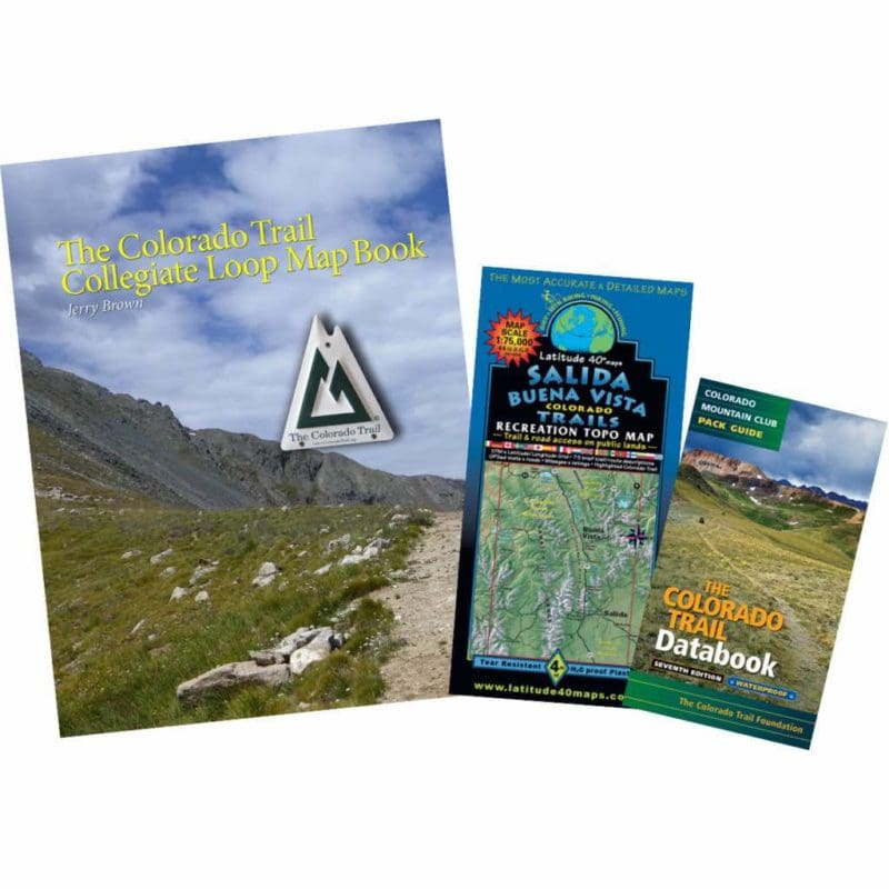 Colorado Trail Map Book - Colorado Trail Foundation