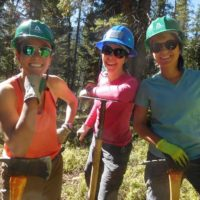 CTF Crew Volunteers enjoy giving back to the Trail.