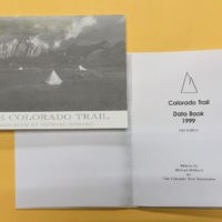 First Edition Colorado Trail Databook, 1999.