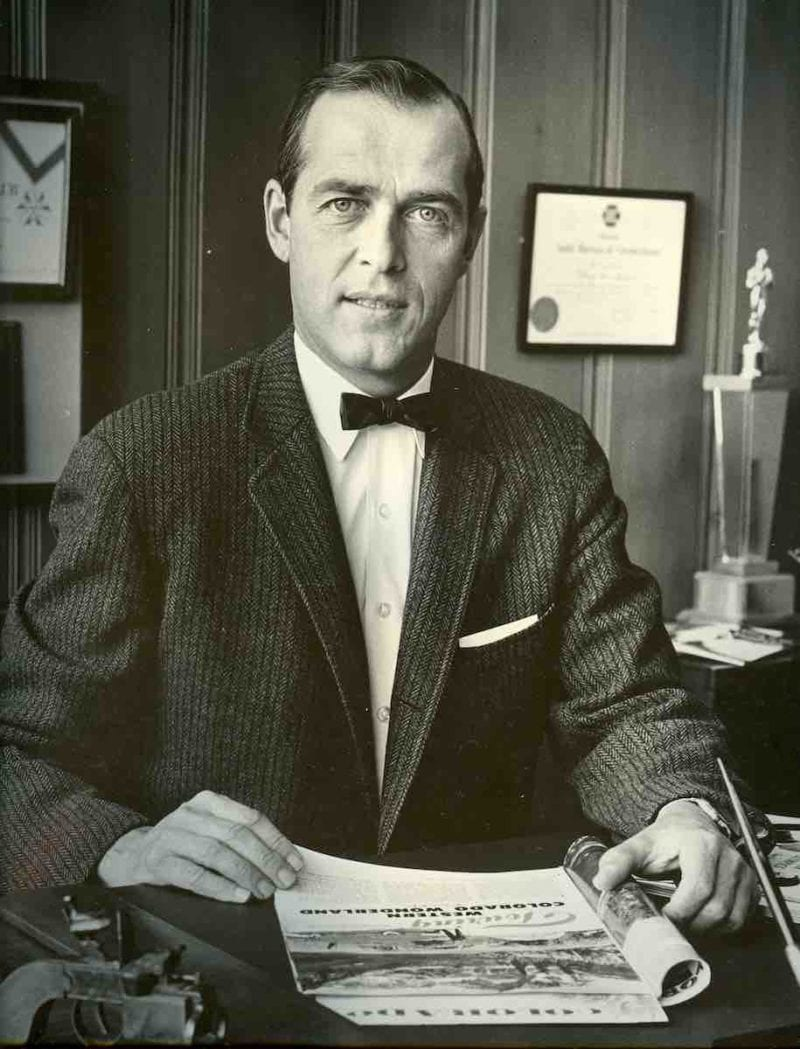 "Merrill Hastings, publisher of ""Colorado"" magazine."