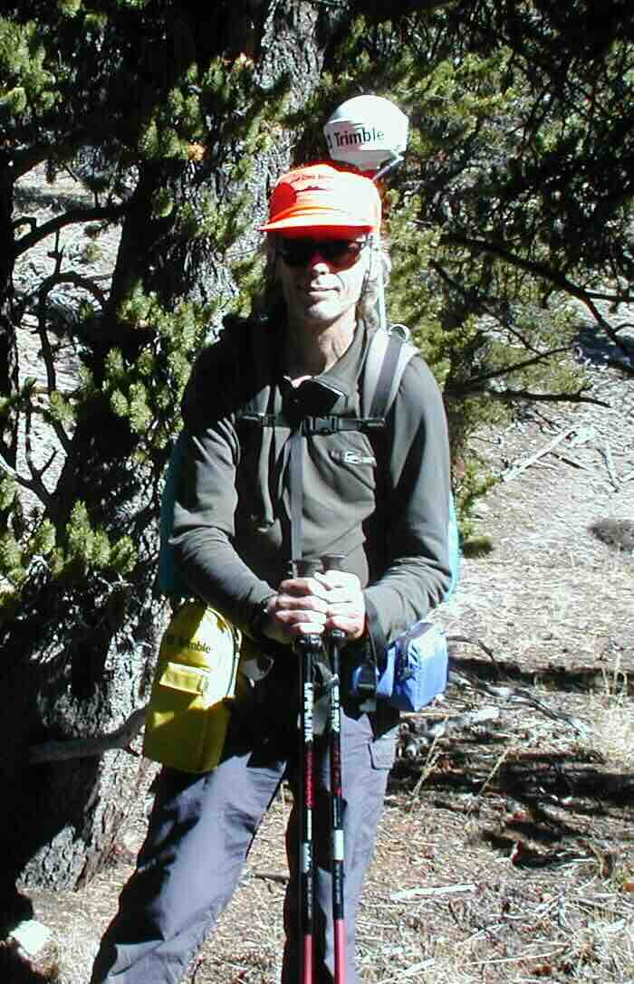 CTF volunteer Jerry Brown on the first-ever survey of The Colorado Trail.