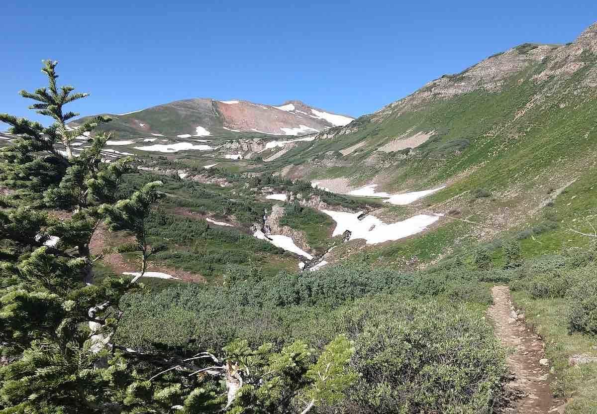 CT Segment 25 taken July 29th and contributed by bikepacker, Robert Umland.