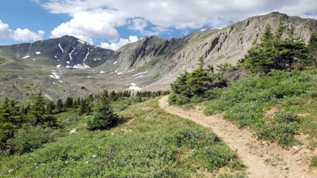 The Colorado Trail, mile for mile the most beautiful trail in America.
