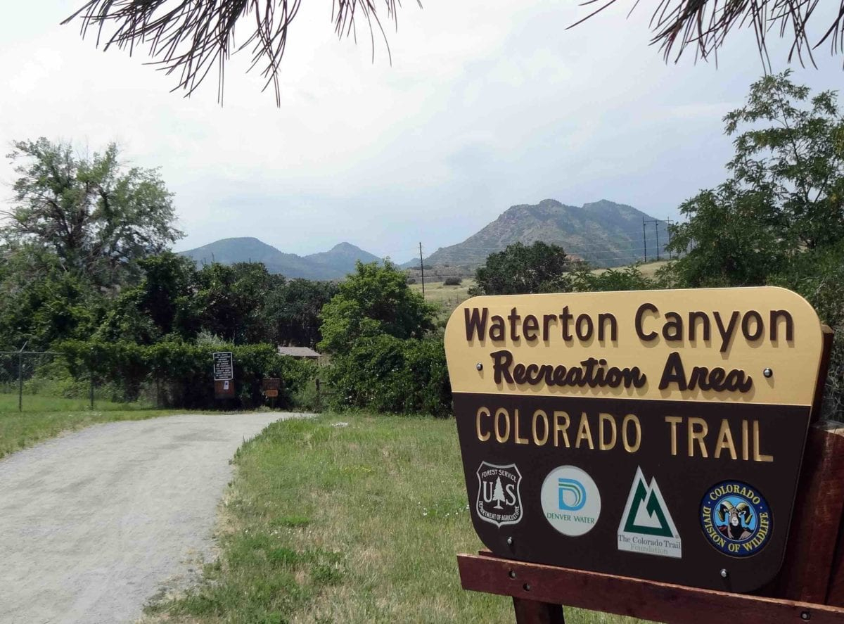 Waterton Canyon Open Weekdays but No Overnight Parking