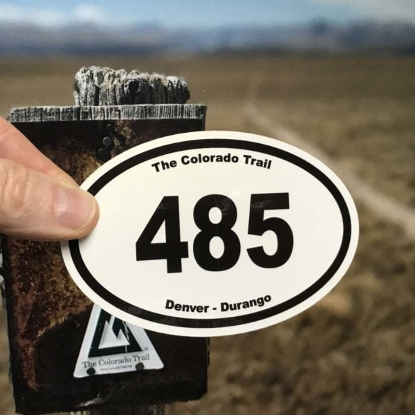 Sharp looking on your waterbottle or window, this CT mileage sticker is sought after by enthusiasts.