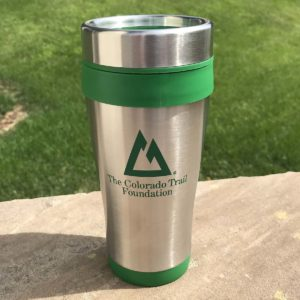 Stainless Steel CT logo Travel Mug