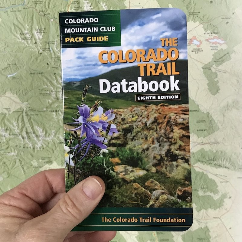 8th Edition Colorado Trail Databook