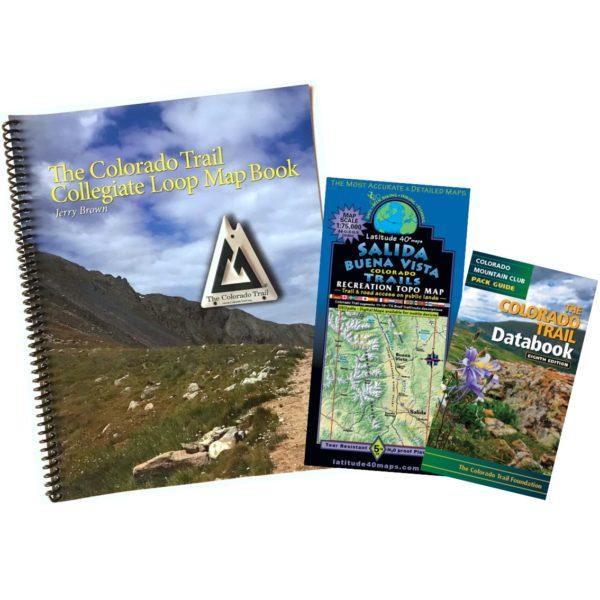 Collegiate Loop Package includes Loop Map Book, Lat 40 Map, and CT Databook