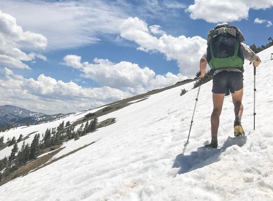 Early season snowpack can be a challenge.